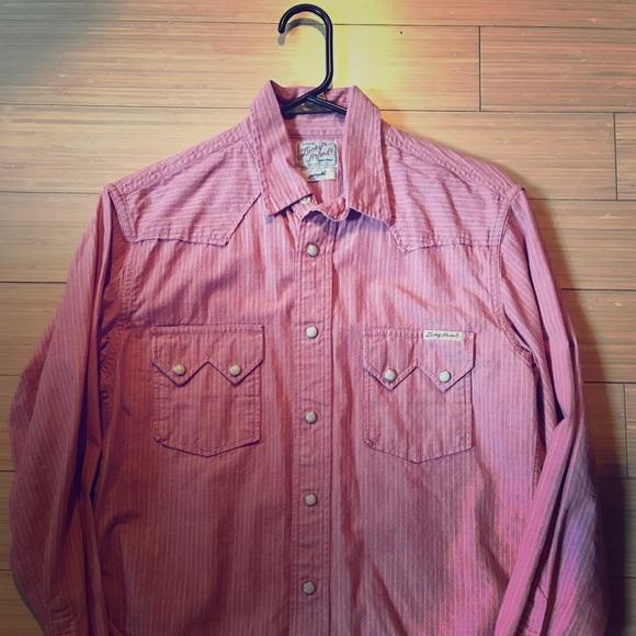 b57ff7a2 Lucky Brand Shirts | Button Down Striped Shirt | Poshmark